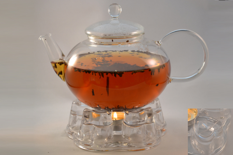 Teapot Warmer Glass Heart Hebden Tea, China Teapot With Warmer