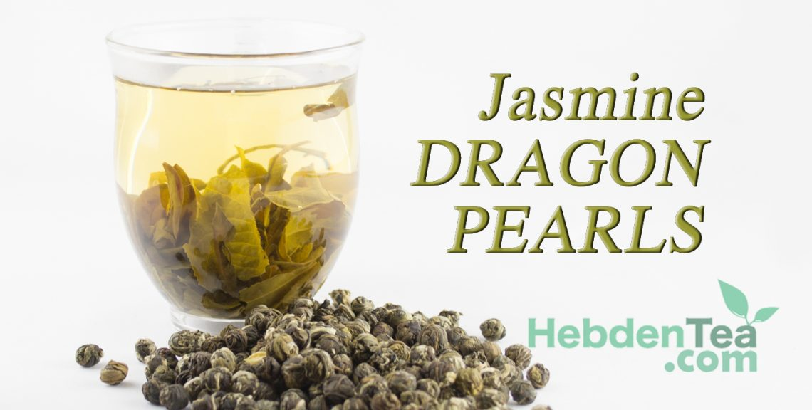 Jasmine Dragon Pearls Hebden Tea