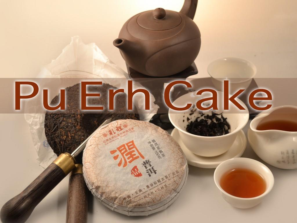 Pu Erh cake