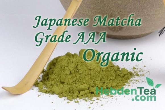 Japanese Matcha Orangic Hebden Tea Company