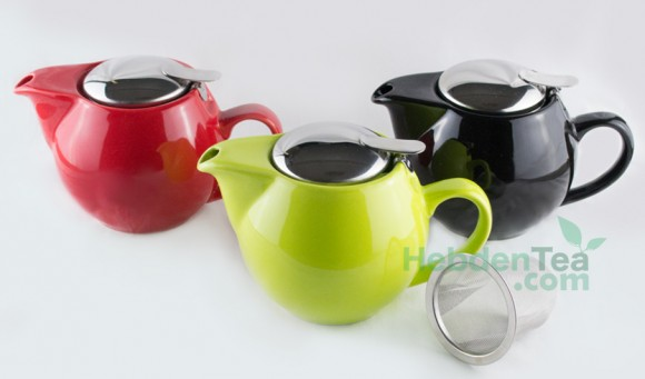 Porcelain Teapot With Infuser 0.5 Litre