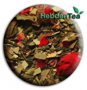 Sencha, Chocolate and Rose