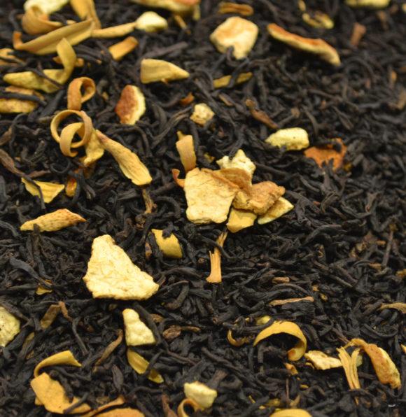 Blood Orange Decaffeinated Black Tea Hebden Tea