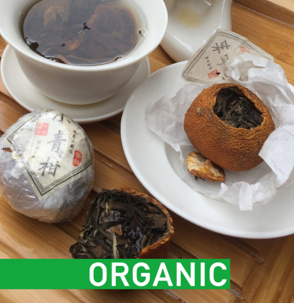 Orange White Tea Organic Hebden Tea
