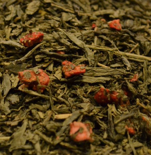 Green Tea Strawberry decaffeinated Hebden Tea
