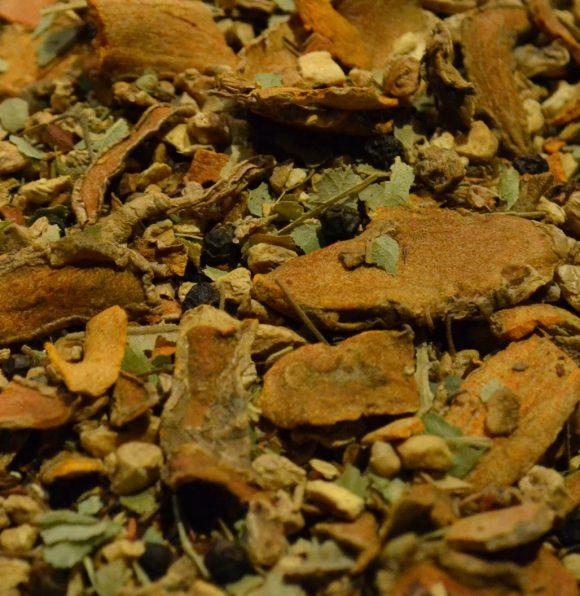 Turmeric Ginger Hebden Tea