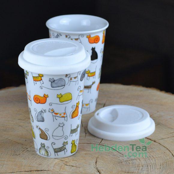 Cat Mug To Go Hebden Tea