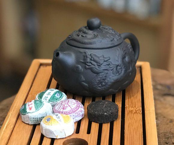 Yixing Teapot Dragon Beauty