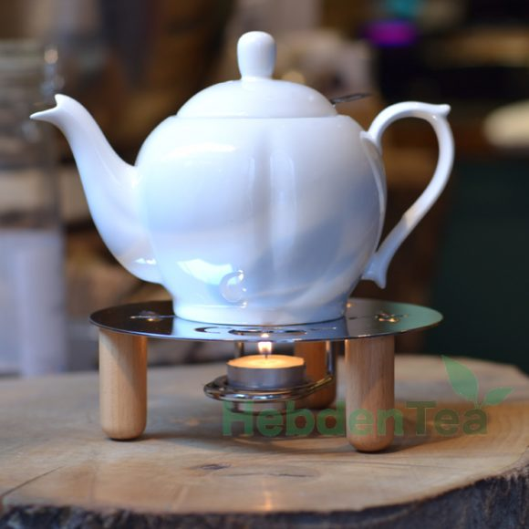 Teapot Warmer Chrome - Hebden Tea