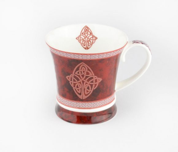 Celtic Mug Red
